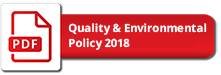 Quality & Environmental Policy 2018